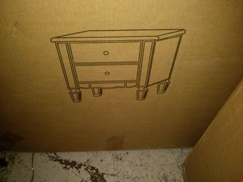 Lot 2318 BOXED MIRAGE 2 DRAWER BEDSIDE RRP £169.00