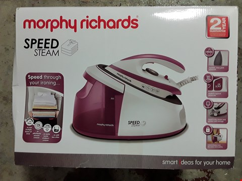 Lot 318 MORPHY RICHARDS SPEED STEAM GENERATOR IRON