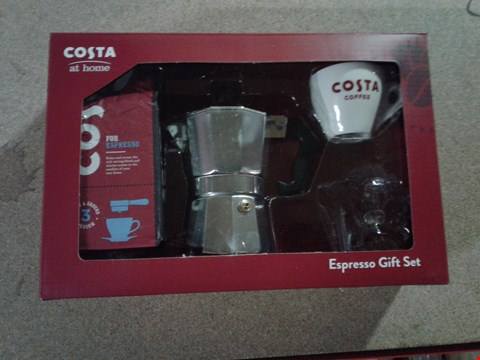 Lot 770 LOT OF 3 ITEMS TO INCLUDE A COSTA COFFEE ESPRESSO SET, MY LITTLE BABY BORN WALKS AND HOT WHEELS EXTREAM ACTION SHARK CAR RRP £106