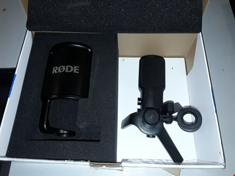 Lot 12748 RODE NT USB MICROPHONE