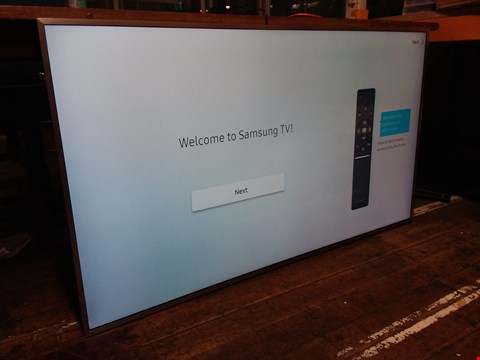 Lot 60 SAMSUNG UE55MU6400UXXU 55 INCH, 4K ULTRA HD CERTIFIED PRO HDR, FREESAT HD, LED TV RRP £1309.99