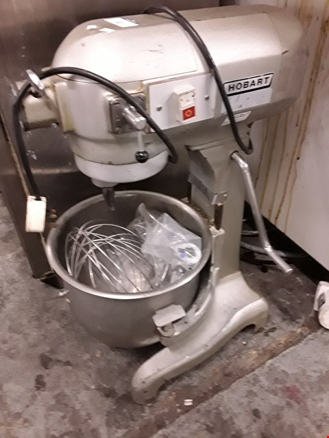 Lot 62 HOBART COMMERCIAL STAND MIXER WITH BOWL & ATTACHMENTS