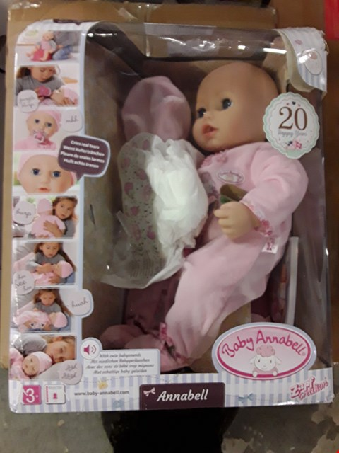 Lot 2061 BABY ANNABELL DOLL RRP £69.99