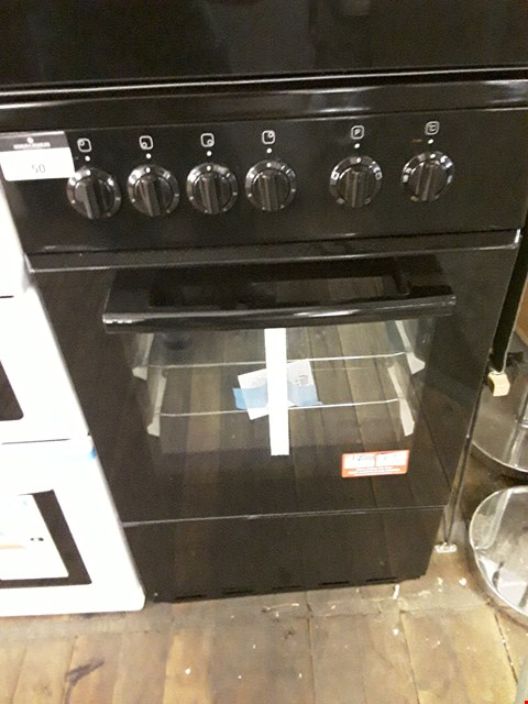 Lot 50 SWAN SX1011B BLACK 50CM ELECTRIC COOKER RRP £389.00