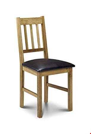 Lot 2059 BOXED GRADE 1 COXMOOR OILED OAK DINING CHAIR (1 BOX) RRP £69.99