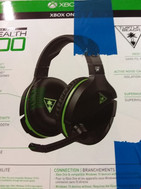 Lot 12176 TURTLE BEACH STEALTH 700X GAMING HEADSET FOR XBOX ONE