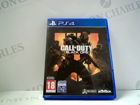 Lot 5628 CALL OF DUTY BLACK OPS IIII PLAYSTATION 4 GAME