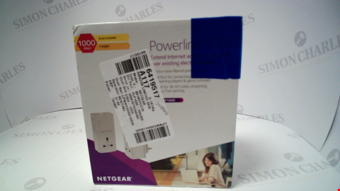 Lot 17257 NETGEAR POWERLINE PLP1000
