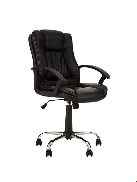 Lot 2485 BOXED GRADD 1 MANAGER CHAIR BLACK RRP £89.00