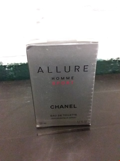 Lot 11026 BOXED CHANEL ALLURE HOMME SPORT EAU DE TOILETTE SPRAY 50ML