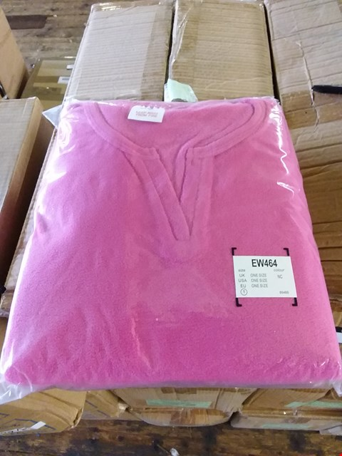 Lot 82 LOT OF 4 BOXES OF DUMMY PINK PONCHIE SWEATSHIRTS APPROX 40