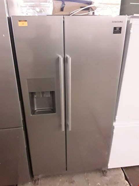 Lot 19 SAMSUNG RS50N3513SA SIDE-BY-SIDE FRIDGE FREEZER WITH WATER & ICE DISPENSER - 91.2 CM - 501 LITRE  RRP £1399.99