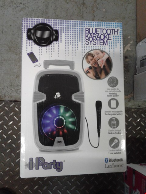 Lot 2357 MULTI KARAOKE BLUETOOTH SYSTEM WITH LIGHTS RRP £80