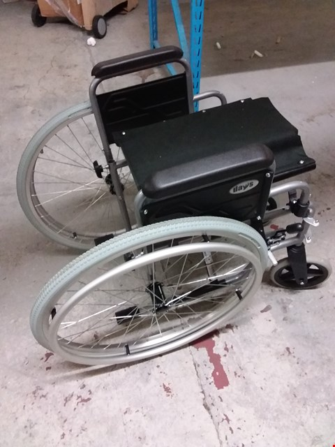 Lot 10952 DAYS 41CM SELF PROPELLED WHEELCHAIR