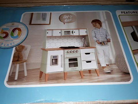 Lot 45 BOXED MID-CENTURY PLAY KITCHEN RRP £155
