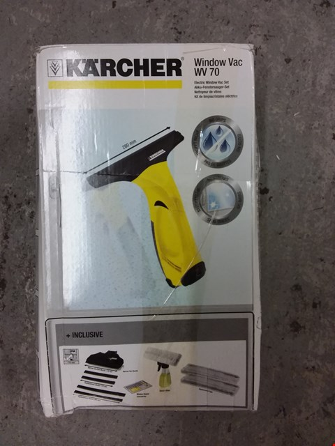 Lot 8362 KARCHER WV2 WINDOW VAC