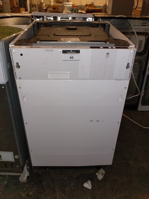 Lot 46 SWAN SDW2010W 10-PLACE SLIMLINE DISHWASHER - WHITE