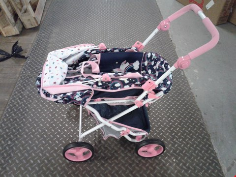 Lot 2437 HAUCK 2 IN 1 UNICORN DELUXE JULIA PRAM RRP £50.78