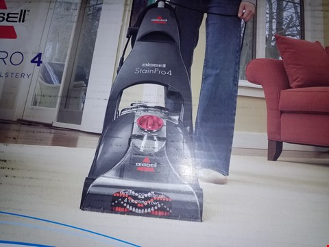 Lot 12584 BISSELL STAINPRO 4 CARPET CLEANER