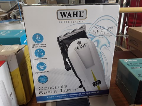 Lot 173 BOXED WAHL PROFESSIONAL CORDLESS SUPER TAPER
