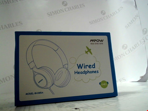 Lot 6280 MPOW WIRED OVER EAR HEADPHONES