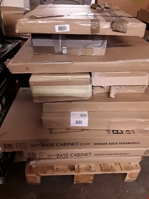 Lot 3017 PALLET OF ASSORTED FLAT PACK FURNITURE  RRP £636