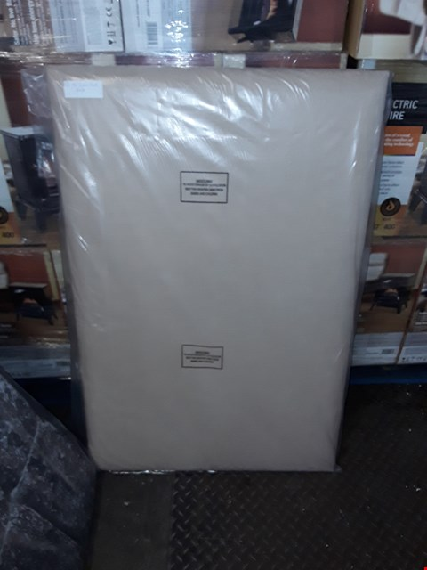 Lot 2132 CHARLES 4FT SAND BLANK HEADBOARD  RRP £99