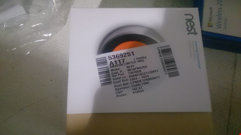 Lot 50 NEST LEARNING THERMOSTAT