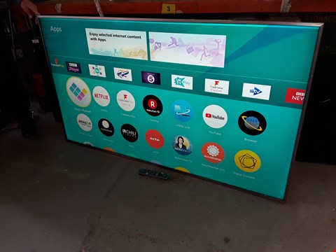 """Lot 16 PANASONIC FX750 SERIES 75"""" 4K HDR LED TELEVISION WITH STAND AND REMOTE MODEL TX 75FX750"""