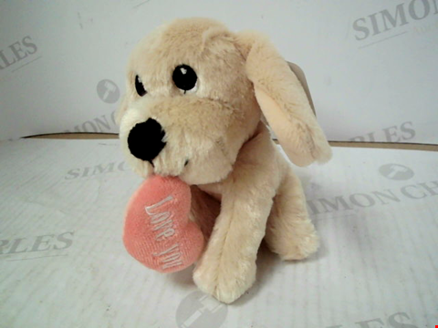 Lot 3136 MOTHER'S DAY SMALL PUPPY PLUSH TOY