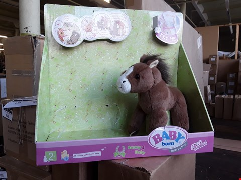 Lot 662 LOT OF 5 ASSORTED ITEMS TO INCLUDE MULTI-COLOUR CHRISTMAS VILLAGE SCENE, BABY BORN INTERACTIVE PONY FARM, HALO HEALTH FRYER AND 2 X OUR GENERATION LILY ANNA DOLL