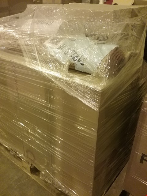 Lot 6021 PALLET OF APPROXIMATELY 137 ASSORTED CLOTHING, SKINCARE AND HOMEWARE ITEMS, INCLUDING 3 HOME REFLECTIONS RUGS, SKECHERS TRAINERS AND 6 L'OCCITANE SHEA-SOAP COLLECTIONS