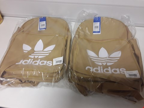 Lot 3386 BOX OF APPROXIMATELY 10 BAGGED ADIDAS BP CLAS TREFOIL BACKPACS