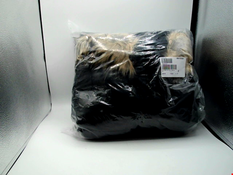 Lot 1006 BOX OF APPROXIMATELY 36 ITEMS ASSORTED DESIGNER CLOTHING ITEMS - TO INCLUDE PARKA BROWN HANDBAG PLUM TOP