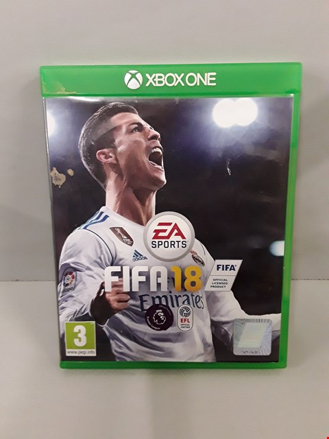 Lot 89 FIFA 18 XBOX ONE GAME