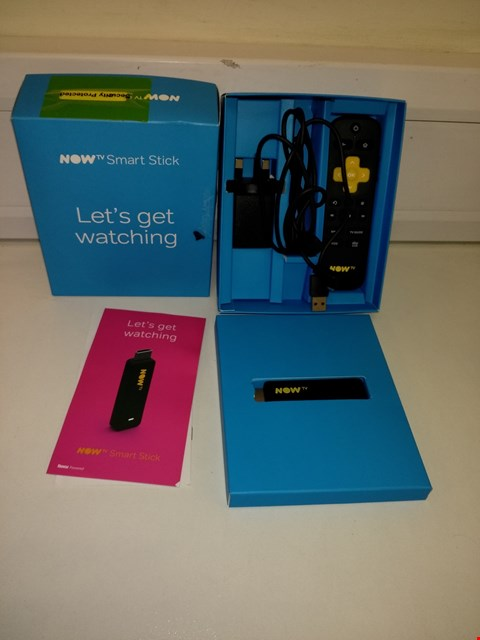 Lot 9568 NOW TV SMART TELEVISION STREAMING STICK