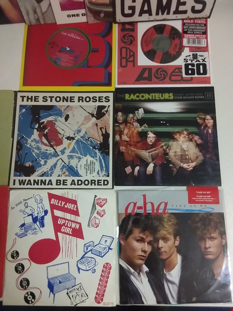 "Lot 1003 LOT OF APPROXIMATELY 22 ASSORTED 7"" SINGLES TO INCLUDE THE STONE ROSES, THE RACONTEURS, KILLING JOKE, FONTELLA BASS ETC"