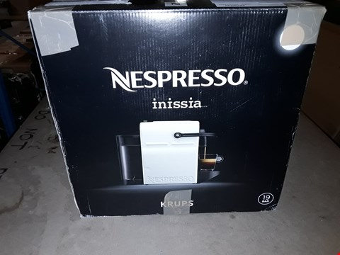 Lot 366 KRUPS NESPRESSO INISSIA COFFEE MACHINE