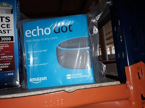 Lot 34 ECHO DOT VOICE CONTROL ALEXA