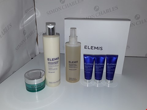 Lot 523 ELEMIS SKINCARE SET INCLUDING FACIAL TONER, SHOWER CREAM, HAND AND NAIL LOTION, ANTI WRINKLE DAY CREAM