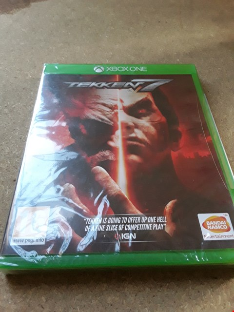 Lot 7671 TEKKEN 7 XBOX ONE GAME