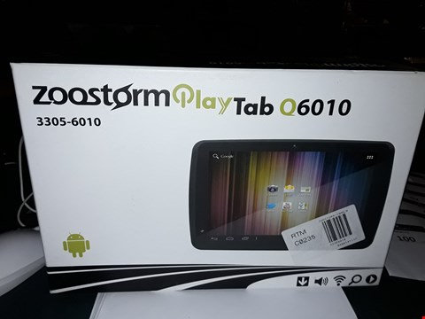 Lot 87 ZOOSTORM PLAYTAB Q6010 ANDROID TABLET