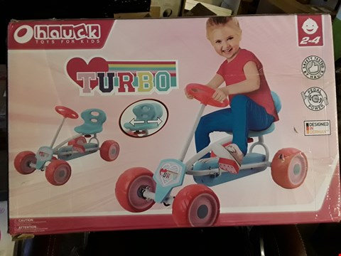 Lot 82 BOXED GRADE 1 HAUCK TURBO MINI GO-KART - GIRLS RRP £120