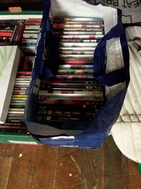 Lot 2157 BAG OF ASSORTED DVDS