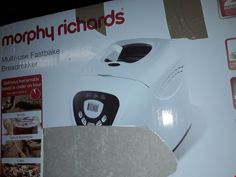 Lot 295 MORPHY RICHARDS MULTI-USE FASTBAKE BREADMAKER