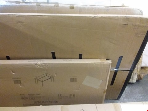 Lot 7048 BOXED BOSTON CHROME/GLASS TABLE PARTS (BOX 1&2 OF 3 ONLY - TABLE TOP)