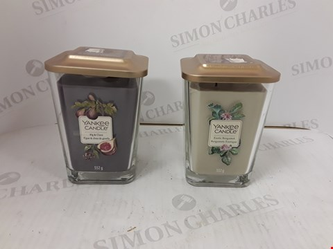 Lot 813 BOXED SET OF 2 YANKEE CANDLES