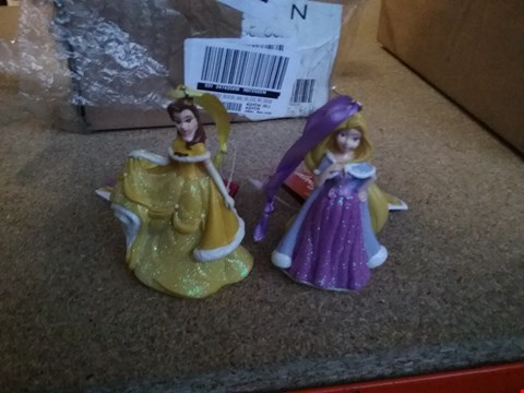 Lot 2437 DISNEY CHRISTMAS TREE DECORATIONS