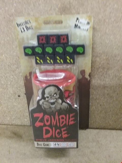 Lot 376 BOXED ZOMBIE DICE GAME