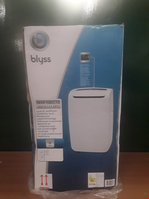 Lot 9 BOXED BLYSS LOCAL AIR CONDITIONER RRP £198
